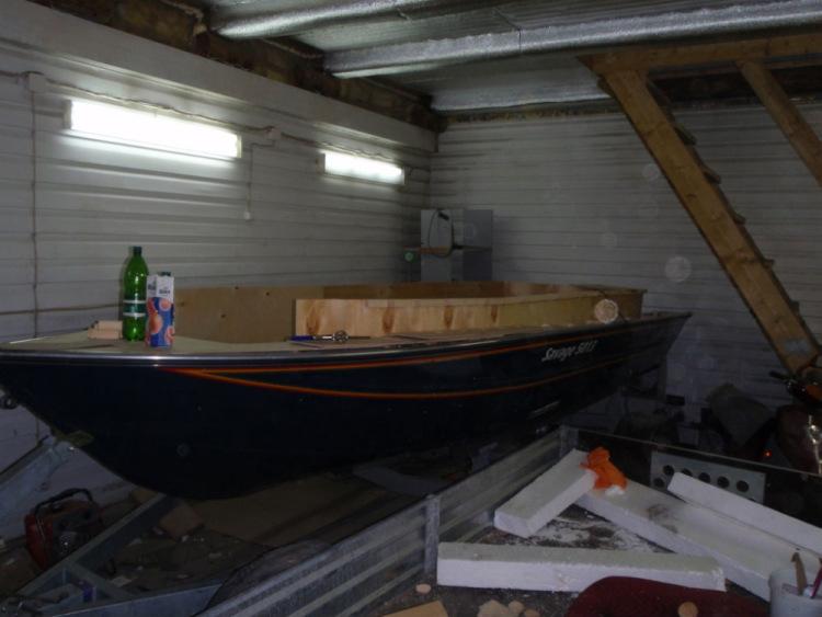 проект рыбацкого катера
