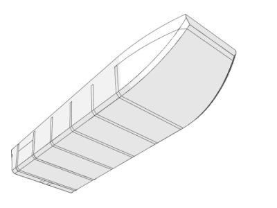 лодка плоскодонка своими руками чертежи доска