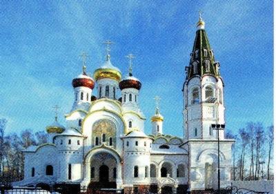 Храм Св.Александра Невского в посёлке Княжье Озеро