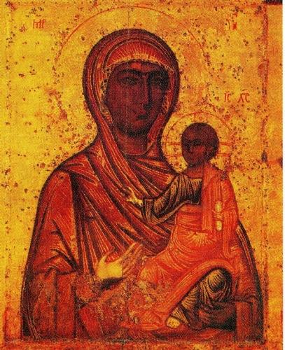 Чудотворная икона Богоматери Торопецкой