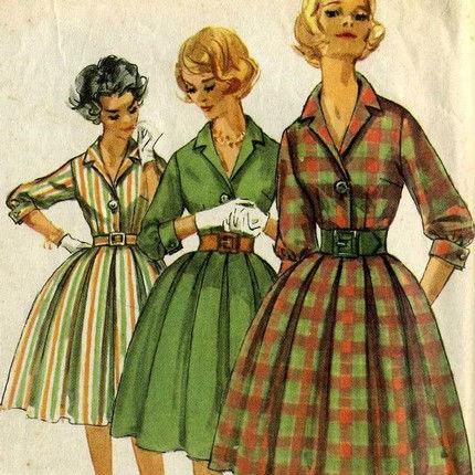 фото мода 50-х годов.
