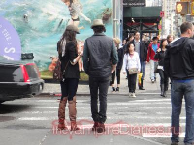 Попались! Йен Сомерхалдер и Нина Добрев нежатся в Нью-Йорке!