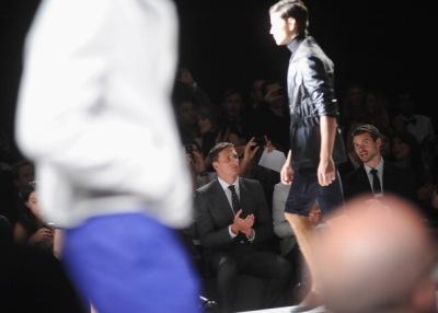 Joseph Abboud - Backstage - Spring 2013 Mercedes-Benz [5 сентября]