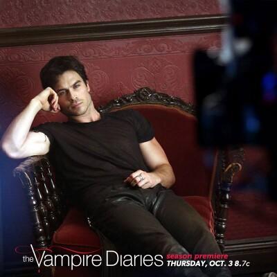 Новое фото со съемок промо-фотосессии для 5 сезона