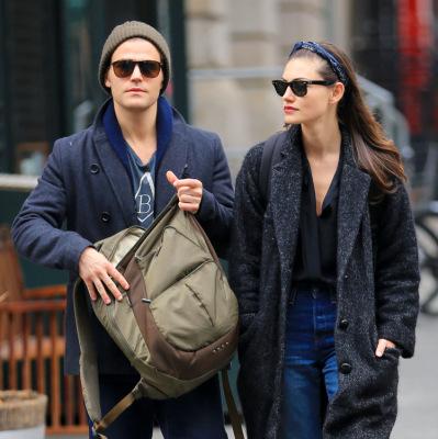 Пол и Фиби в Нью-Йорке [25 марта]