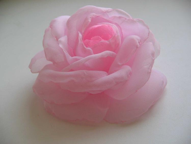 Своими руками цветок из вуали 79