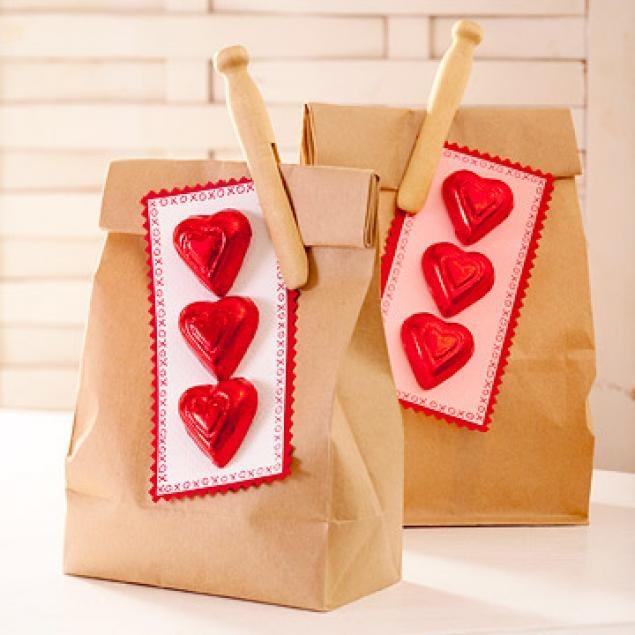 Сувениры к дню святого валентина своими руками фото