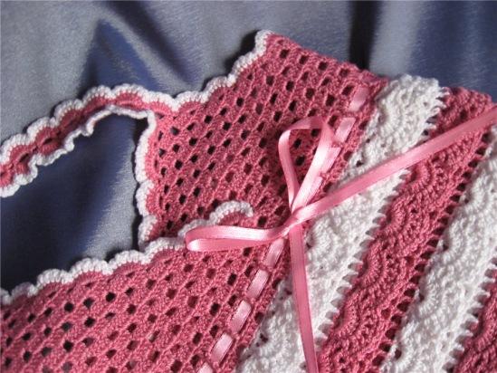 вязание крючком детское платье со схемой, вязать спицами тунику и вяжем...
