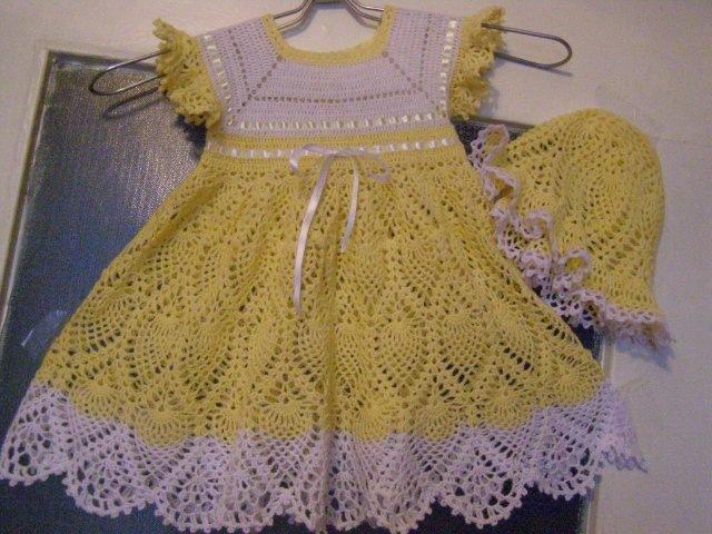 Платья, сарафаны детские спицами и крючком,вязание онлайн. вязание