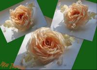 цветы из ткани выкройки.
