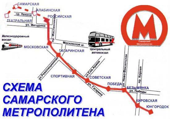 Само метро оказалось