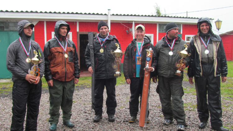 Открытый Чемпионат Санкт-Петербурга по ловле спиннингом с лодок 2014