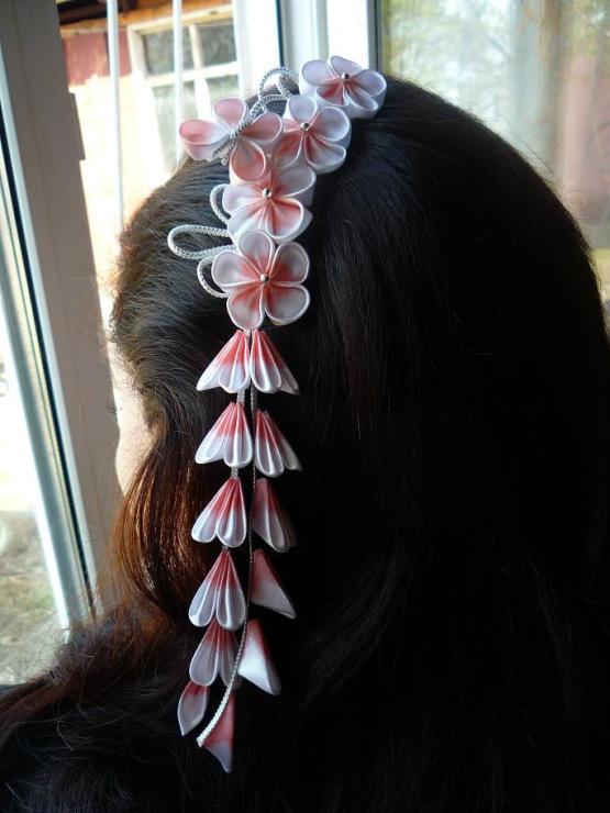 Японские украшения для волос своими руками