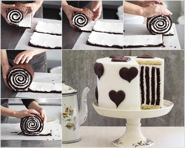 Необычный торт своими руками фото