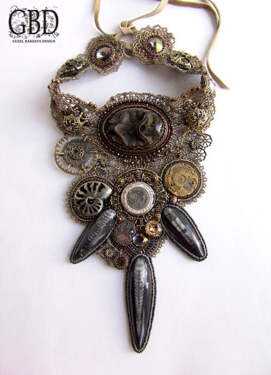колье и браслеты steampunk