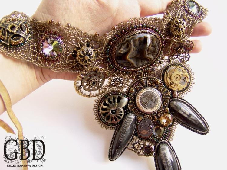 колье и браслеты steampunk (Фото 3)