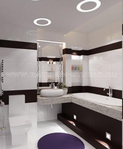 варианты кладки плитки в ванной фото - Нужные схемы и описания для всех.