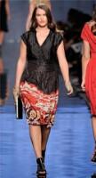 Мода для полных осень-зима 2011-2012 (фото) Женский сайт.