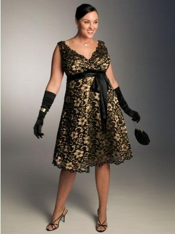 вечерние платья для выпускного бала - Модели вечерних платьев для полных женщин и девушек - Мода для полных: лучшие