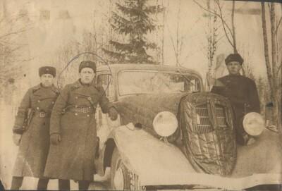 Парк 1 рота. Финляндия Март 1940 год 46 бр