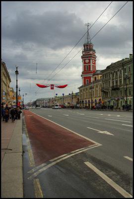 Питер.1 мая 2010. Невский проспект.