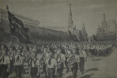 Картины по развитию русской речи учащихся нерусских школ. 1963.