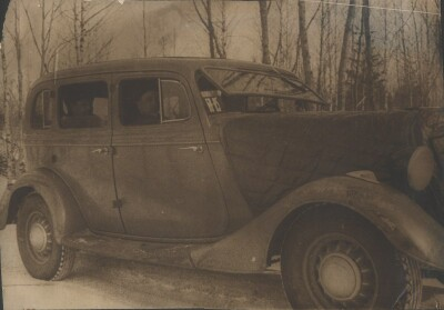 Хутор Молтино Финляндия 7 марта 1940. Парк 1 рота.