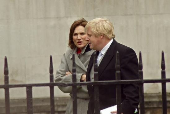 Свадьба британского принца. На фото  - мэр Лондона Борис Джонсон.
