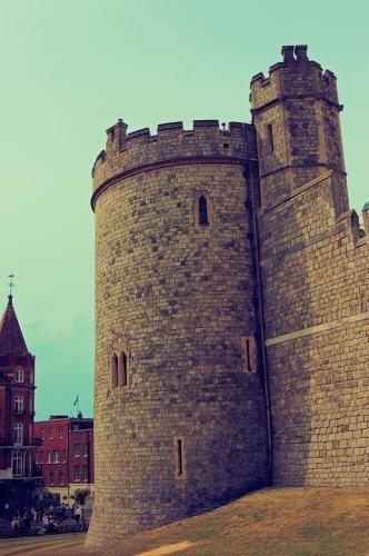 Виндзор. Круглая башня Виндзорского замка.