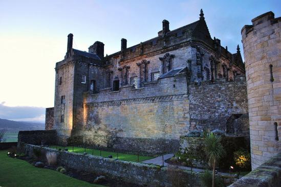 Шотландия. Замок Стирлинг.