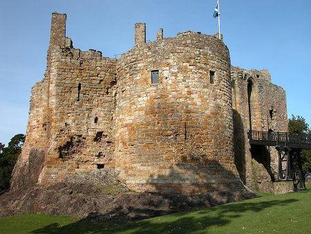 Шотландия. Замок Данбар.