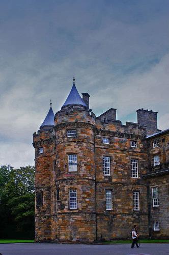 Шотландия. Холируд-хаус.