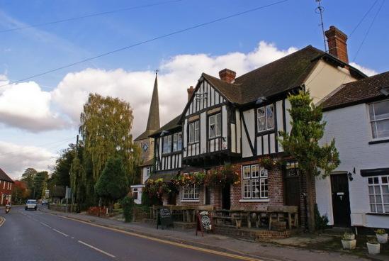 Великобритания, графство Кент, деревушка Эйнсфорд.