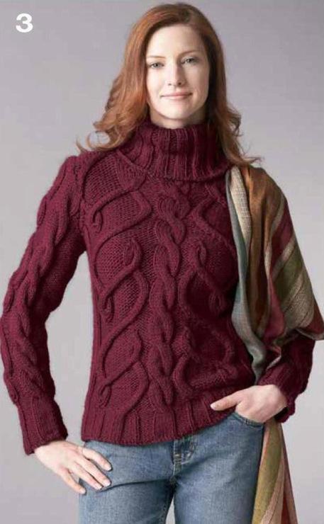 Метки свитер спицы араны женский свитер спицами женские изделия бесплатная схема вязания женская вязаная одежда