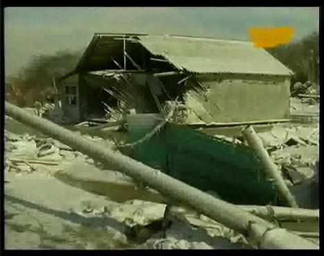 Il villaggio di Kyzyl-Agash dopo il disastro