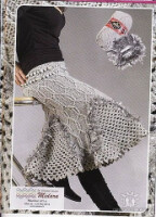 юбки вязаные спицами схемы.