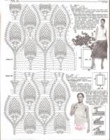 Метки: накидка женская крючком вязаная накидка узор ананасы вязание модели бесплатно вязание модели крючком схемы