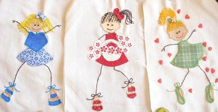 Своими руками можно оригинальнро украсить детскую одежду или полотенце, одеяльце. . Все, что угодно