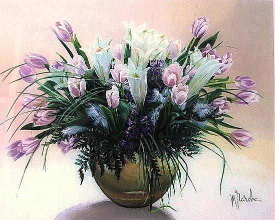 все, хорошие мои, пора на работу всем, кто присоединиться в течении дня, мои поздравления с весной.