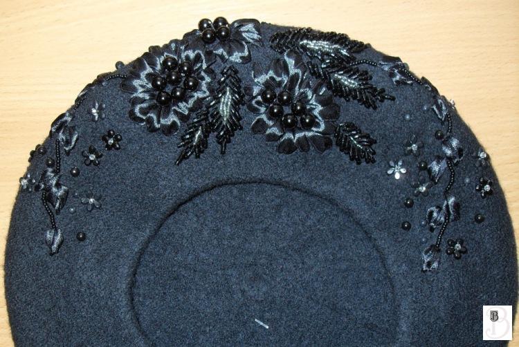 Схемы для вышивки на беретах