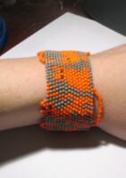 браслеты из бисера схемы плетения на станке.