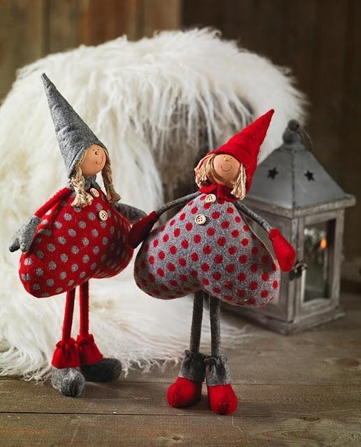 Куклы на новый год своими руками