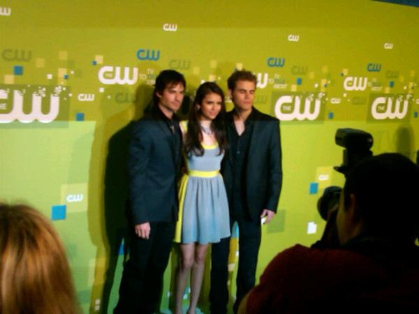 Йен, Пол и Нина о 3 сезоне на CW Upfronts