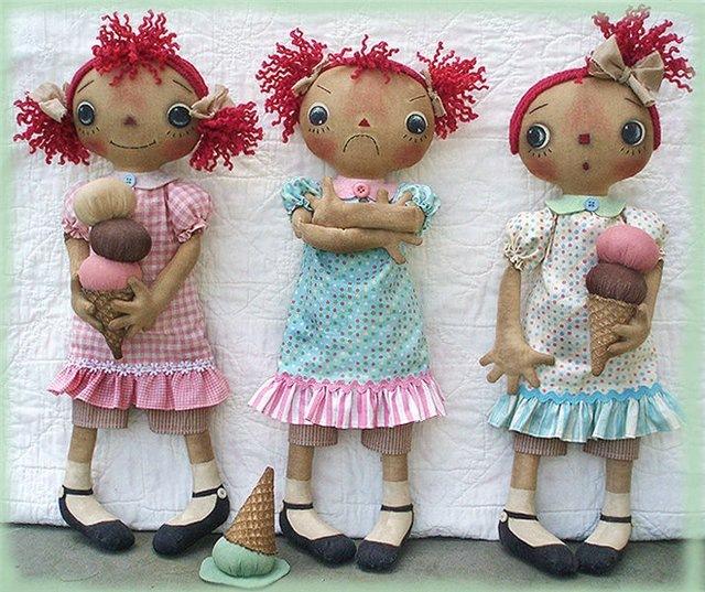 Куклы своими руками выкройки фото