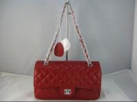 Сумка Chanel размеры:25х16х7 см 4 цвета: красный, бежевый, фиолетовый...