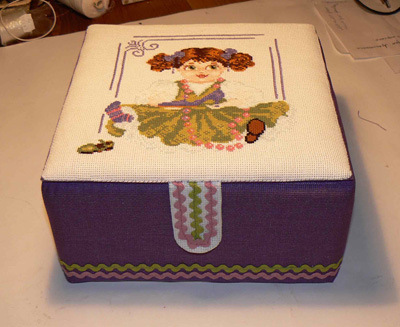 Коробочки для вышивки своими руками