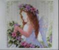 Вышивка бисером Ангел Хранитель Кроше Радуга бисера фото.