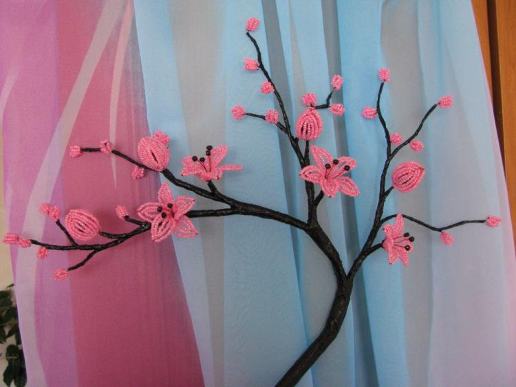 Gallery.ru / Фото #37 - Цветы, деревья, свадебные букеты из бисера на заказ - Bisheri.