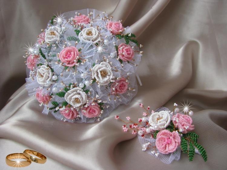 Свадебные букеты своими руками мастер класс