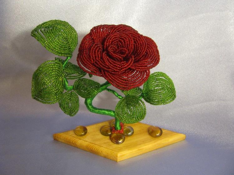 Gallery.ru / Фото #4 - Цветы, деревья, свадебные букеты из бисера на заказ - Bisheri.